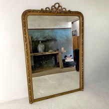 Grand miroir au mercure Napoléon III