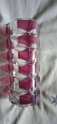 vase luminarc en cristal vintage