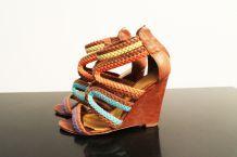 Sandales compensées Cosmo Paris