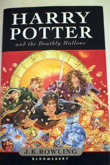 Livre Harry potter Version Anglaise