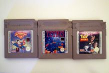 Lot de 3 jeux retro de gameboy
