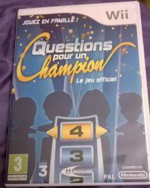 Jeu Nintendo Wii - Questions pour un Champion