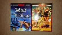 Albums des films Astérix le Viking et Astérix aux jeux olympiques