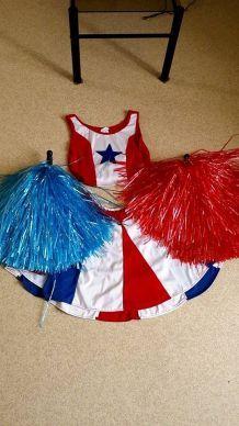 Costume de pom-pom girl
