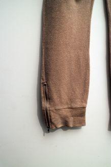 Pantalon jogging nude paillettes