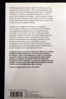 Livre Freedom de Jonathan Franzen