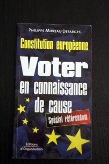 """Livre d'occasion """"Voter en connaisance de cause"""""""