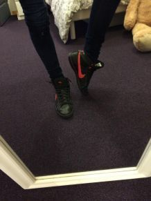 Nike dunk noires
