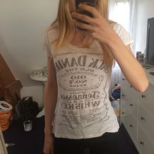 T shirt blanc Jack Daniels