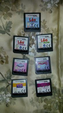 lot de jeux nintendo DS