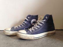 Converse bleu haute