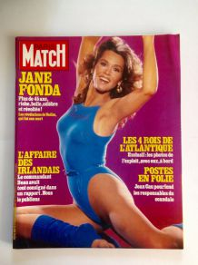 Magazine Paris Match de collection vintage