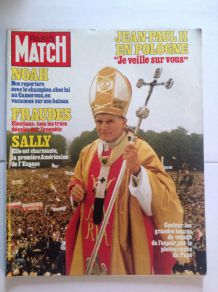 Magazine de collection  Paris Match ancien de 1983