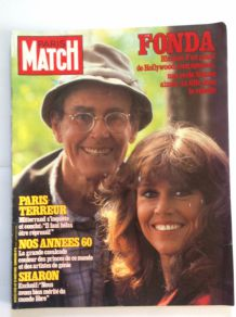 Magazine Paris Match de collection ancien du 27 aout 1982