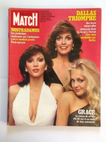 Magazine ancien de collection de Paris Match du 15 octobre 1982