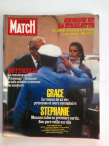 Magazine de collection Paris Match ancien du 22 octobre 1982