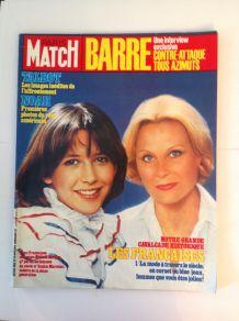 Magazine de collection  Paris Match vintage du 20 janvier 1984