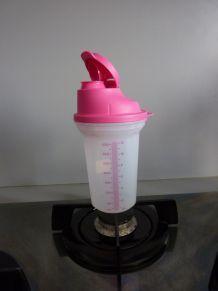 Shaker 350 ml rose