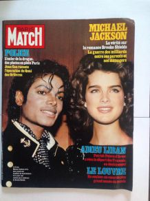 Ancien Paris Match de collection  du 6 avril 1984