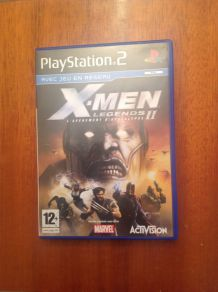 "Jeu pour PlayStation 2 ""X-men legends"""
