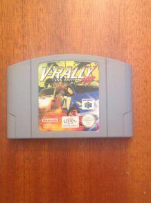 V-rally 99 sur Nintendo 64