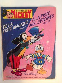 "Lot de 5 magazines anciens ""Journal de Mickey"""