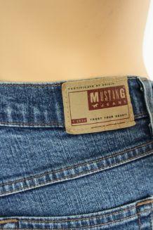 jean semi taille haute