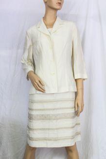ensemble CAROLL blazer + robe