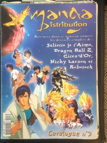 Magazine Manga Distribution ancien de Novembre 1999