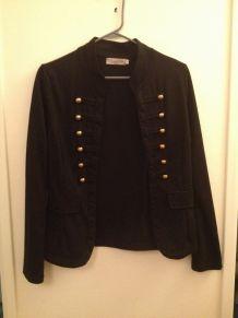 veste gilet noir ou écru