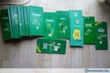 LOT Guides verts MICHELIN + Cartes routières + plans