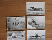 Cartes thème aviation