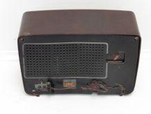 ancien poste de radio vintage