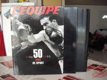 L'Equipe 50 ans de Sport (2 Volumes)
