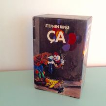 "Coffret ""Ça"" le clown vintage d'occasion de Stephen King"