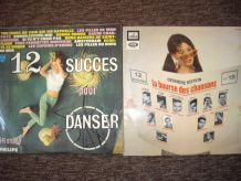 Lot de disques vinyles (33 tours)