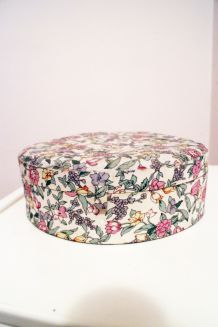 Boîte à bijoux fleurie