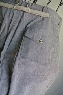 Pantalon Homme en lin Carnet de vol