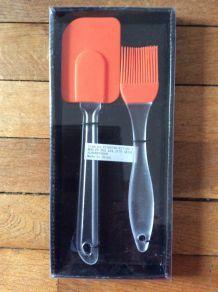 Pinceau et spatule de cuisine et pâtisserie - neuf