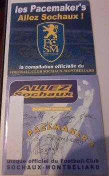 """Lot d'objets du """"FC SOCHAUX-MONTBELIARD"""""""