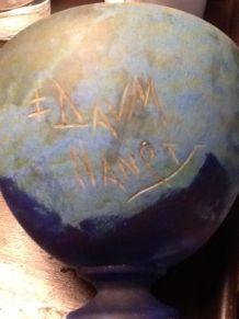 Vase signé Daum