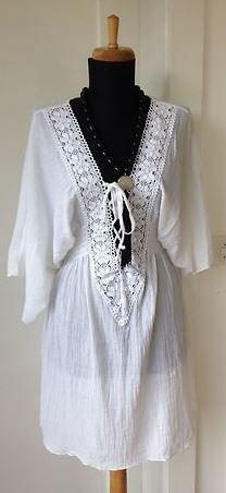 Tunique  Robe longue style Bohème WATER WATER