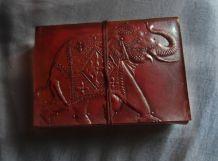 Carnet cuir