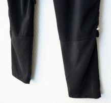 Legging / Pantalon Bleu Marine Avec Fronces Genoux-T36- Jrc