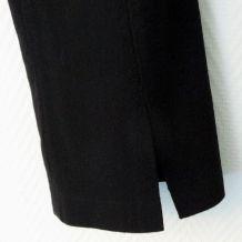 Pantalon Droit Noir- Créateur Ralph Kemp