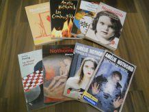 Collection de 8 Livres d'Amélie Nothomb pas cher