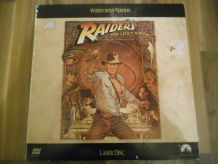 Raiders of the Lost Ark Laser Disc