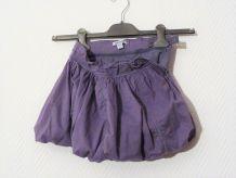 Jupe Boule en 100% Coton Violet- Taille 4 ans=102cm- Okaidi