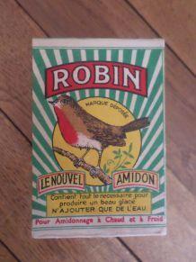 Boîte vintage et neuve pour déco AMIDON ROBIN