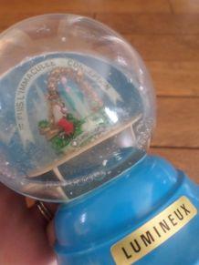 Boule à neige biblique Vierge Marie, l'Immaculée Conception